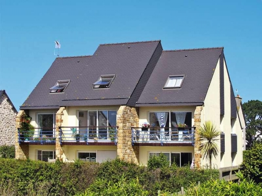 Résidence coté Nord et parking privé - Location de vacances - Roscoff