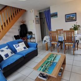 salon séjour /salle à manger //22 m2 - Location de vacances - Roscoff
