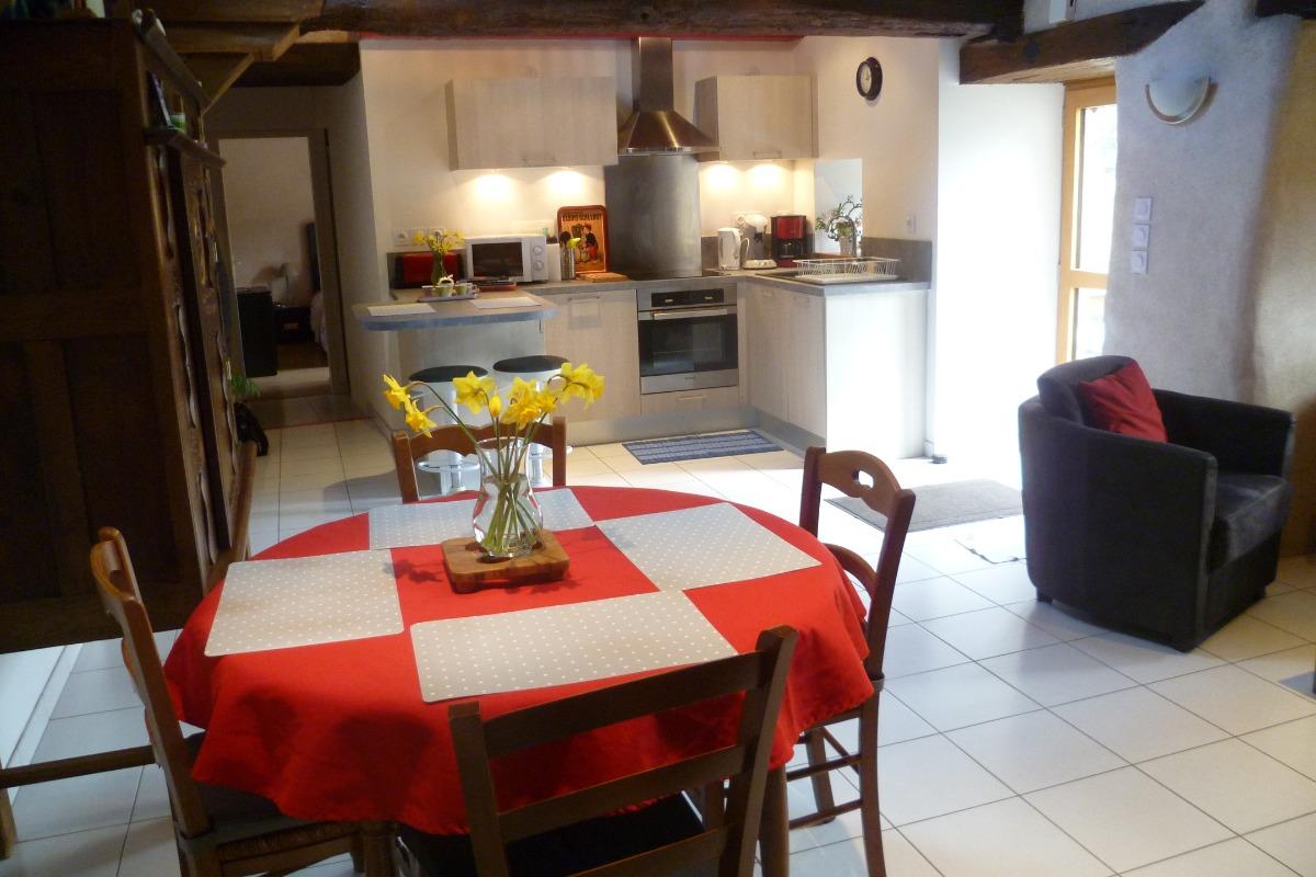 Cuisine / salle à manger - Location de vacances - Guiclan