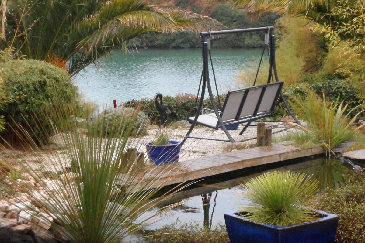 ADMIRER LES CHANGEMENTS DE PAYSAGE ET DE COULEURS DEPUIS LA BALANCELLE - Location de vacances - Sibiril
