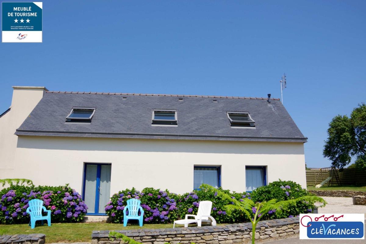 pièce principale maison molène - Location de vacances - Plouguerneau
