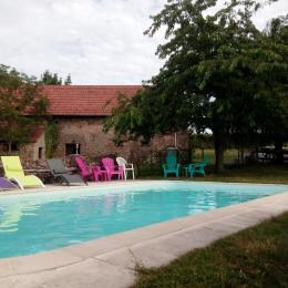 Gîte La Caille - Domaine Les Meuniers en Auvergne - Location de vacances - Malicorne