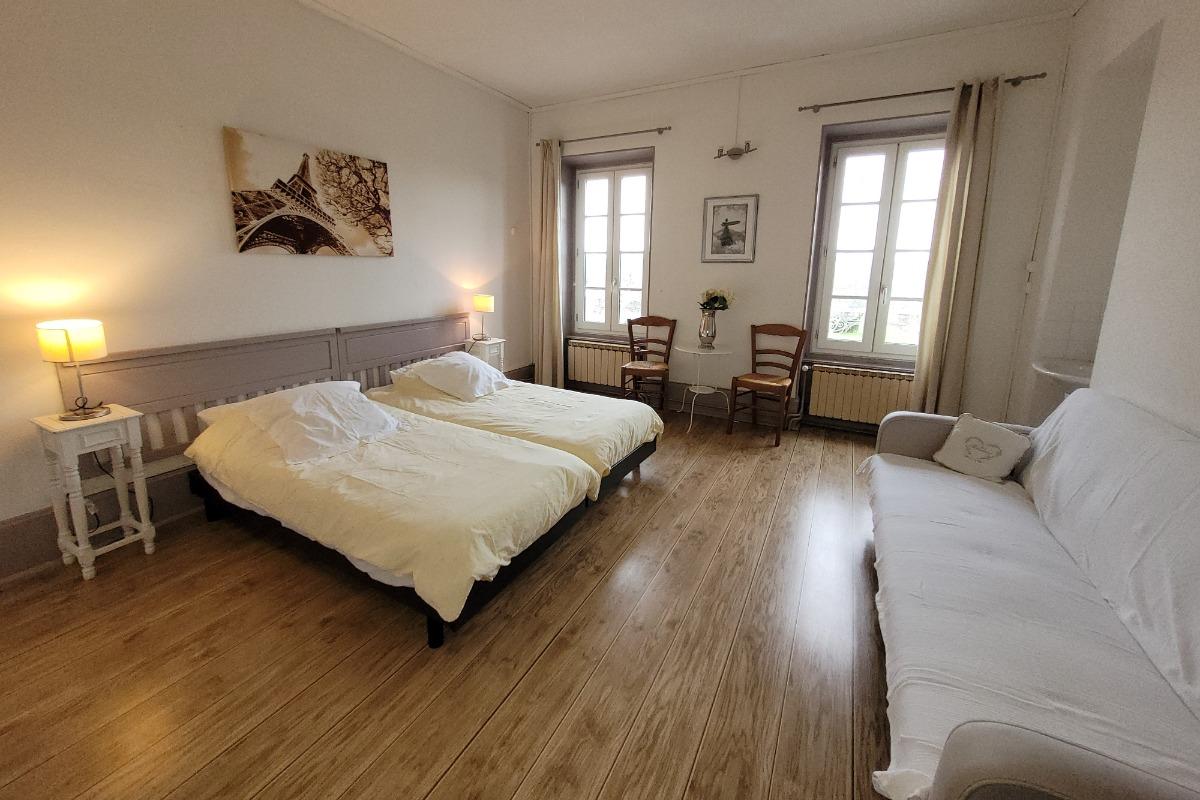 Chambres d'hôtes Au bonheur du parc proche Vichy au cœur de l'Auvergne - Chambre d'hôtes - Le Breuil