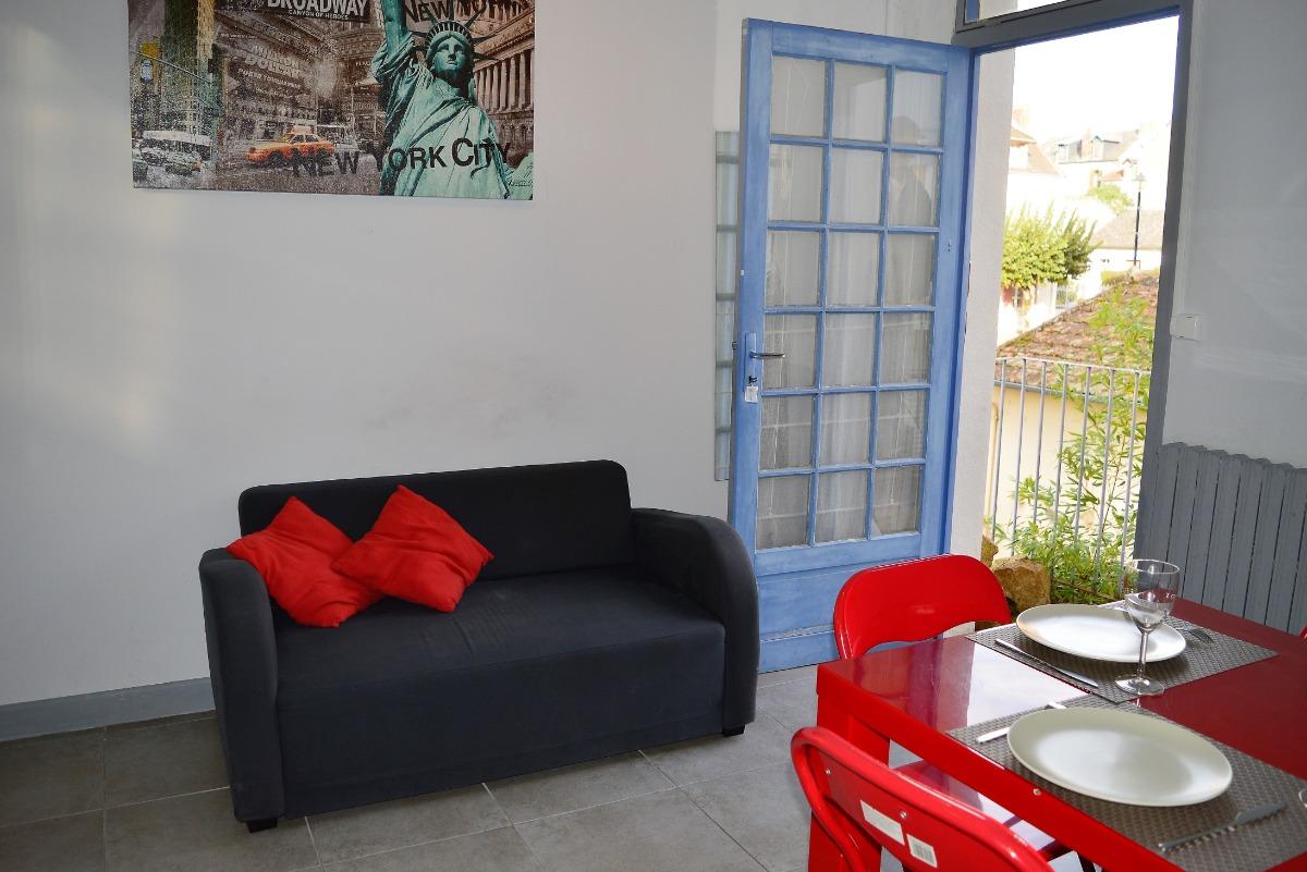 lit 140x190 - Location de vacances - Néris-les-Bains