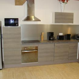 Gîte Les Tissiers Gannay-S/Loire cuisine - Location de vacances - Gannay-sur-Loire