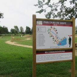 Parcours sante - Location de vacances - Rocles