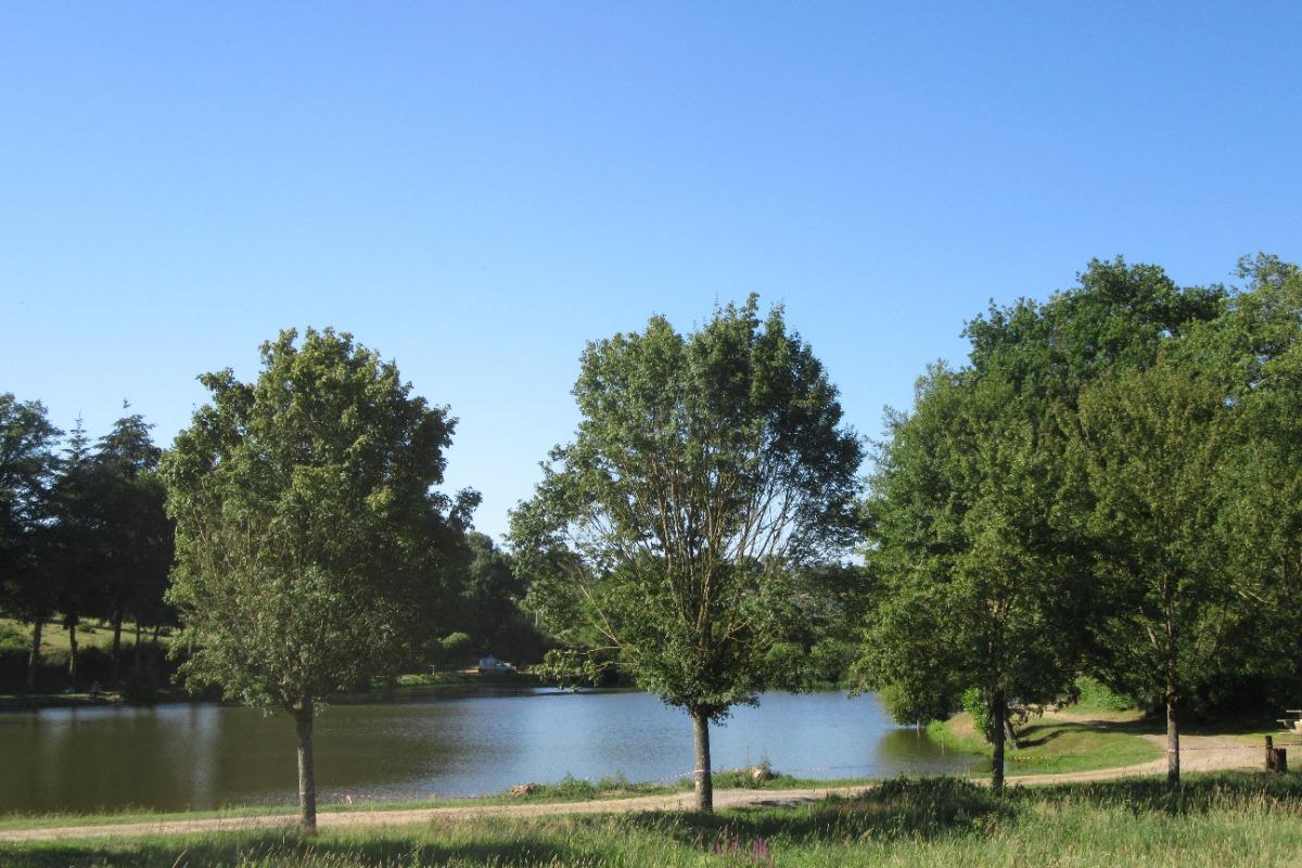 Plan d'eau Carpodrome - Location de vacances - Rocles