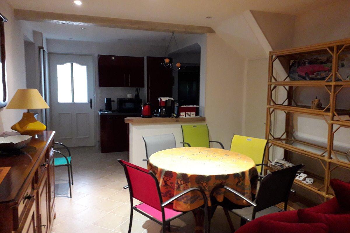 salle à manger - Location de vacances - Buxières-les-Mines