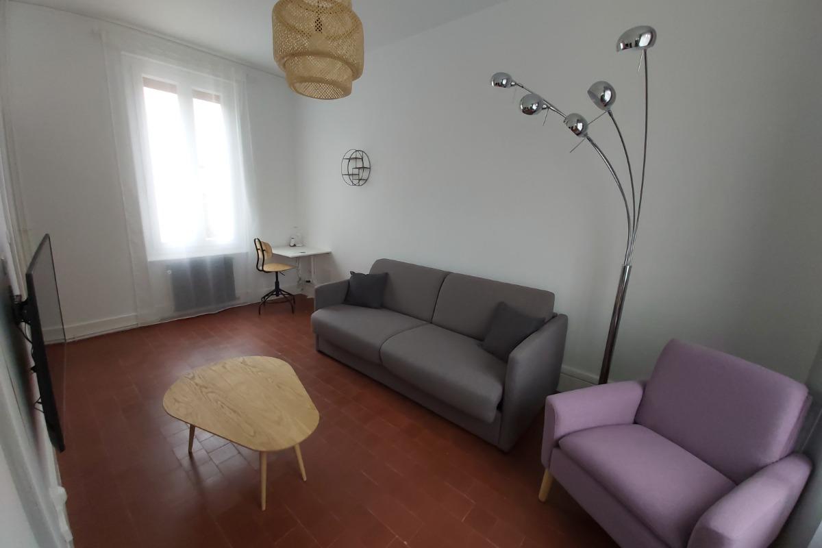 Salon - Location de vacances - Néris-les-Bains