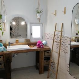 La salle de bain  - Location de vacances - Toulon-sur-Allier