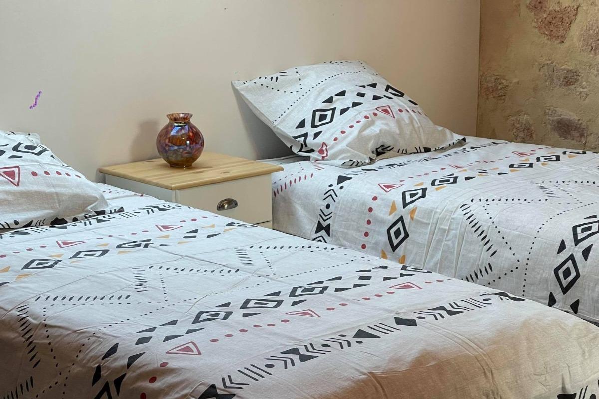2 lits jumeaux 90x200 grand confort - Chambre d'hôtes - Droiturier