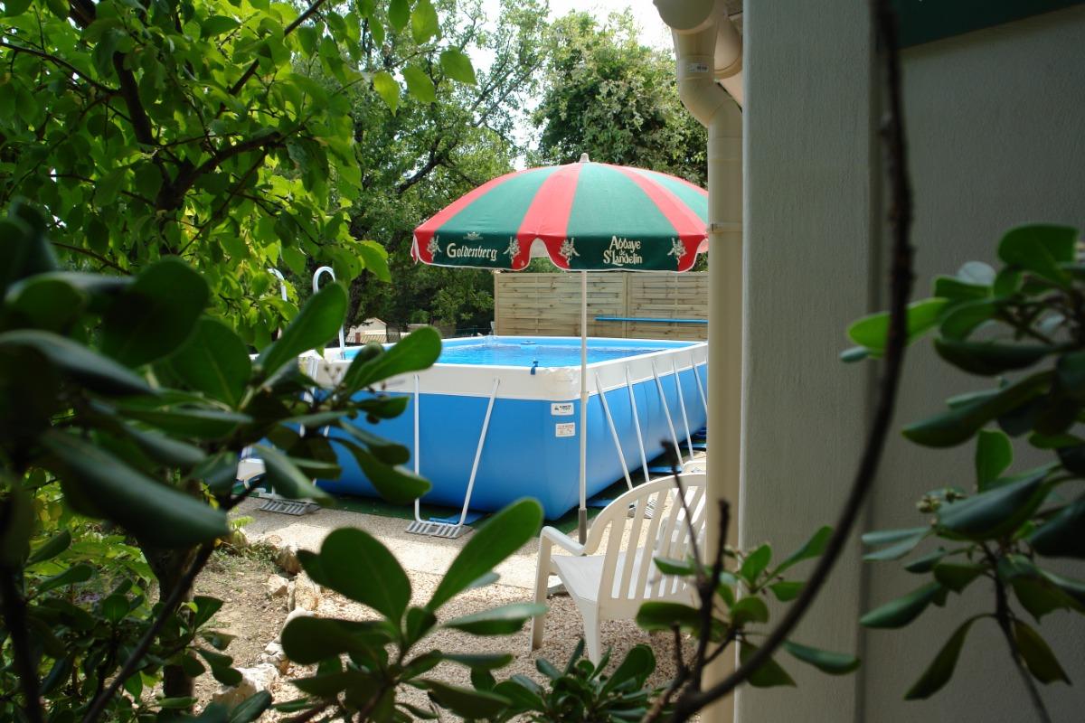 La piscine - Location de vacances - Méjannes-le-Clap