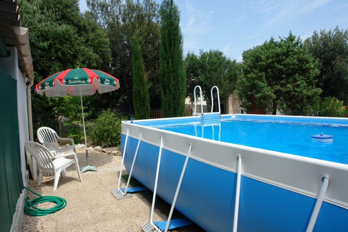 TERRASSE - Location de vacances - Méjannes-le-Clap