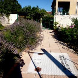 Jardin et potager - Location de vacances - Lézan