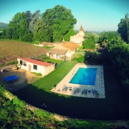 Piscine privée - Location de vacances - Saint-Siffret