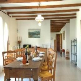 Cuisine Salle à manger - Location de vacances - Saint-Siffret