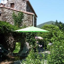 la terrasse - Location de vacances - Mandagout