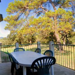 Terrasse - Location de vacances - Orthoux-Sérignac-Quilhan
