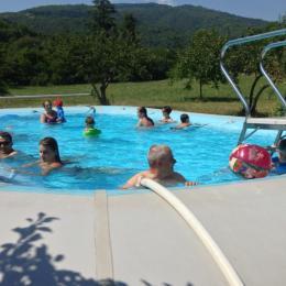 piscine  - Location de vacances - Aulas