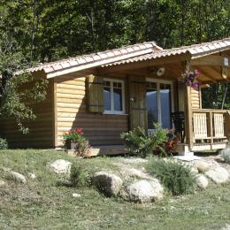 Chalet exterieur - Location de vacances - Aulas