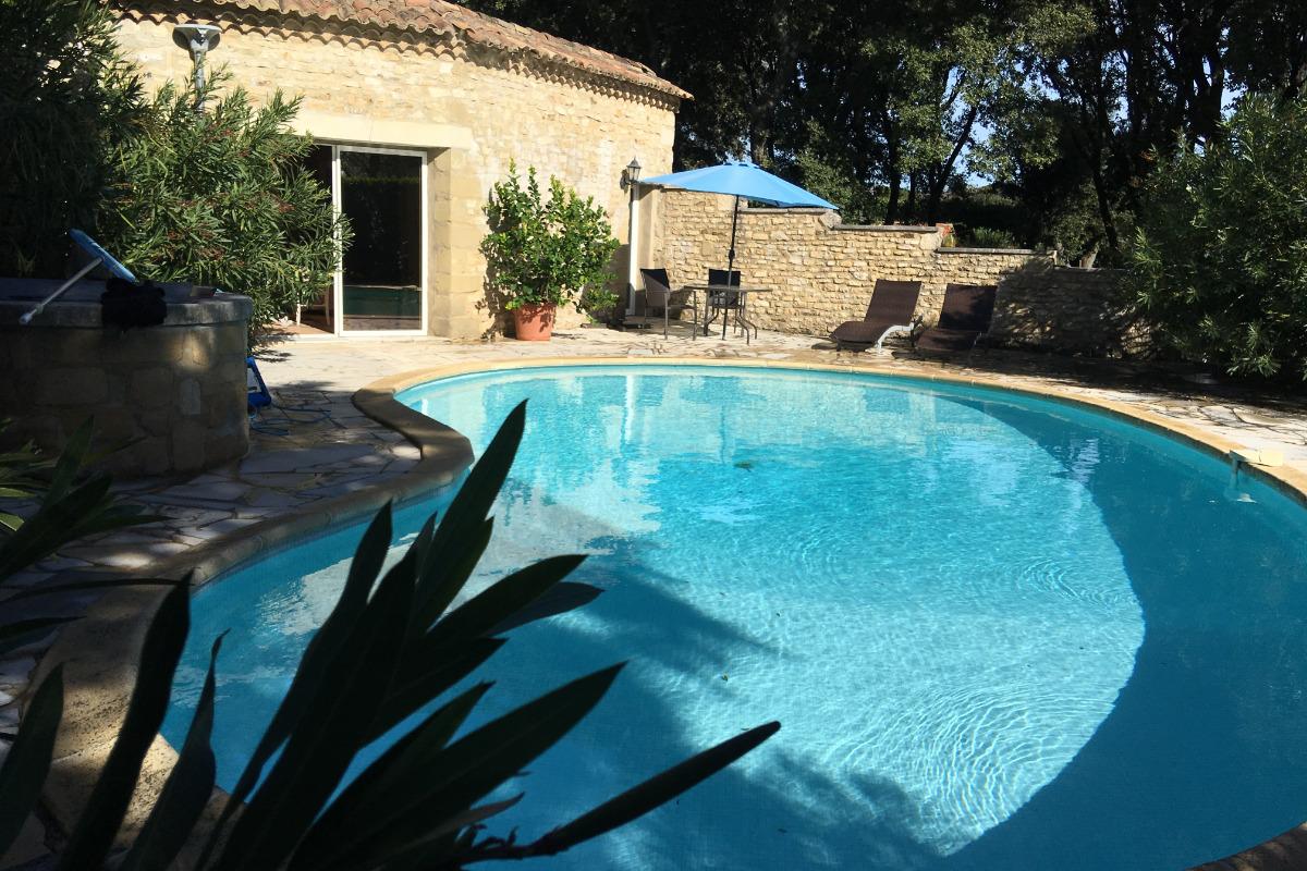 piscine  - Location de vacances - Montaren-et-Saint-Médiers