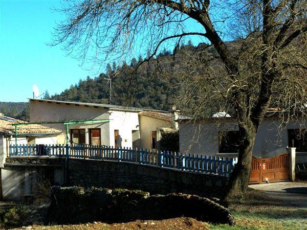 Vue du Gîte de Roudoulouse - Location de vacances - Le Vigan