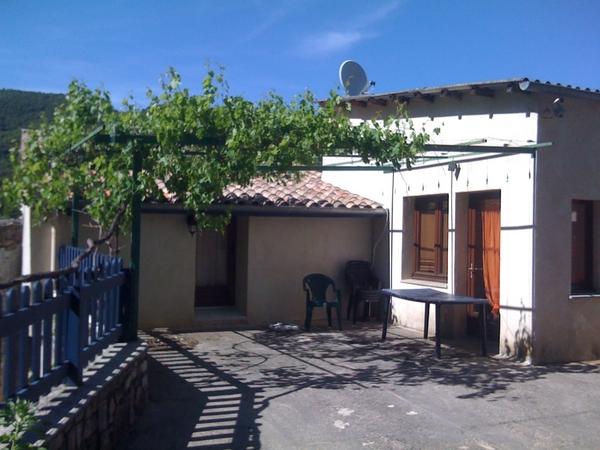 Terrasse du Gîte de Roudoulouse - Location de vacances - Le Vigan