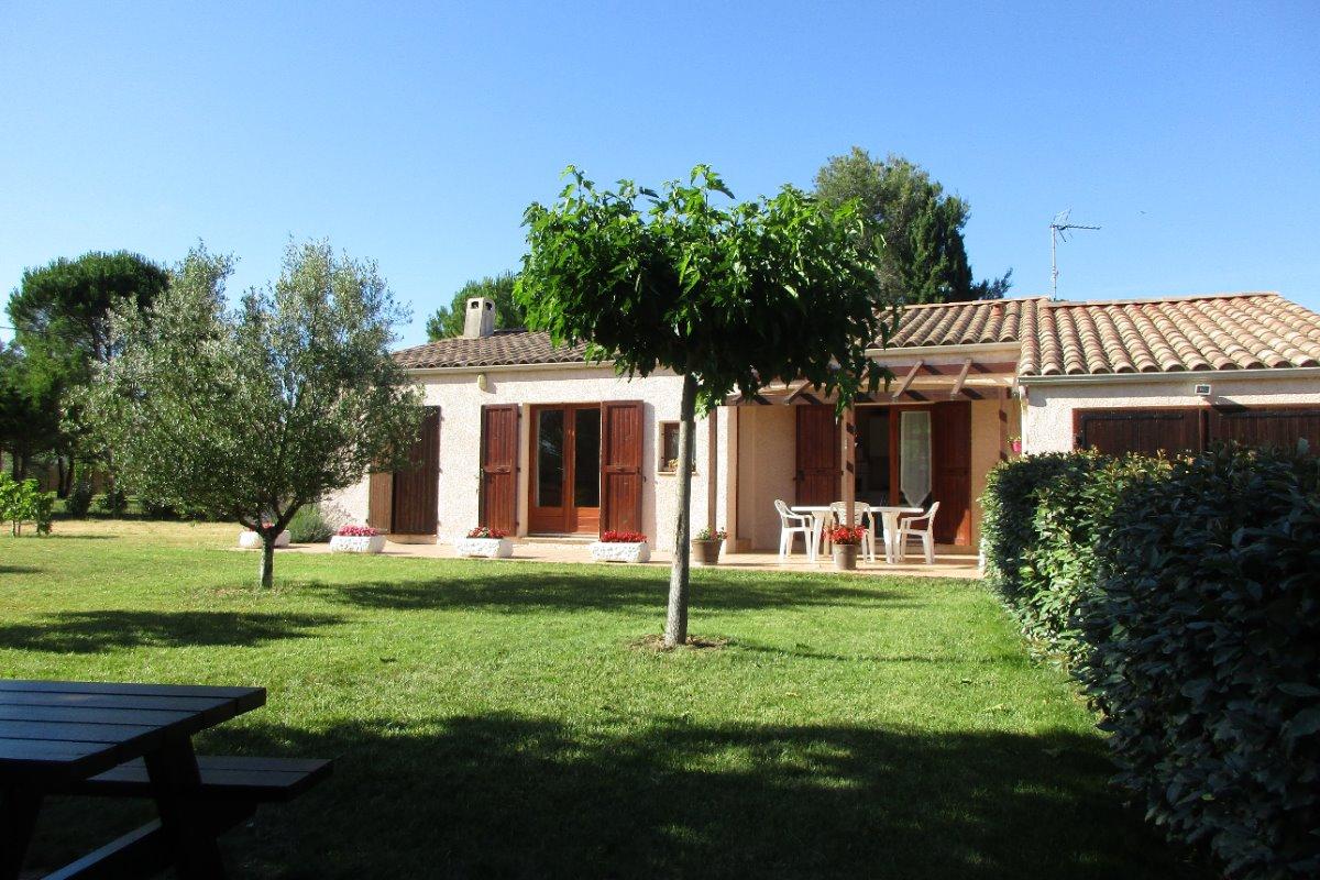 villa récente plain pied - Location de vacances - Serviers-et-Labaume