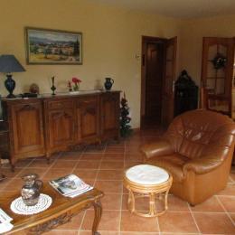 La salle à manger,salon - Location de vacances - Serviers-et-Labaume