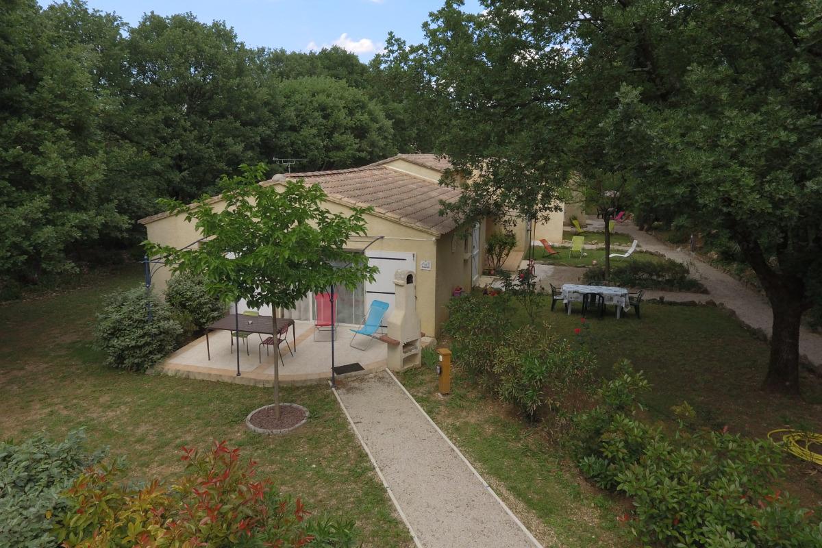 Vue du gite LAVANDE - Location de vacances - Quissac