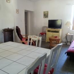 Salon salle à manger - Location de vacances - Gagnières