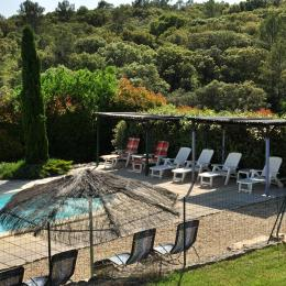 Piscine dans la nature - Location de vacances - Orthoux-Sérignac-Quilhan