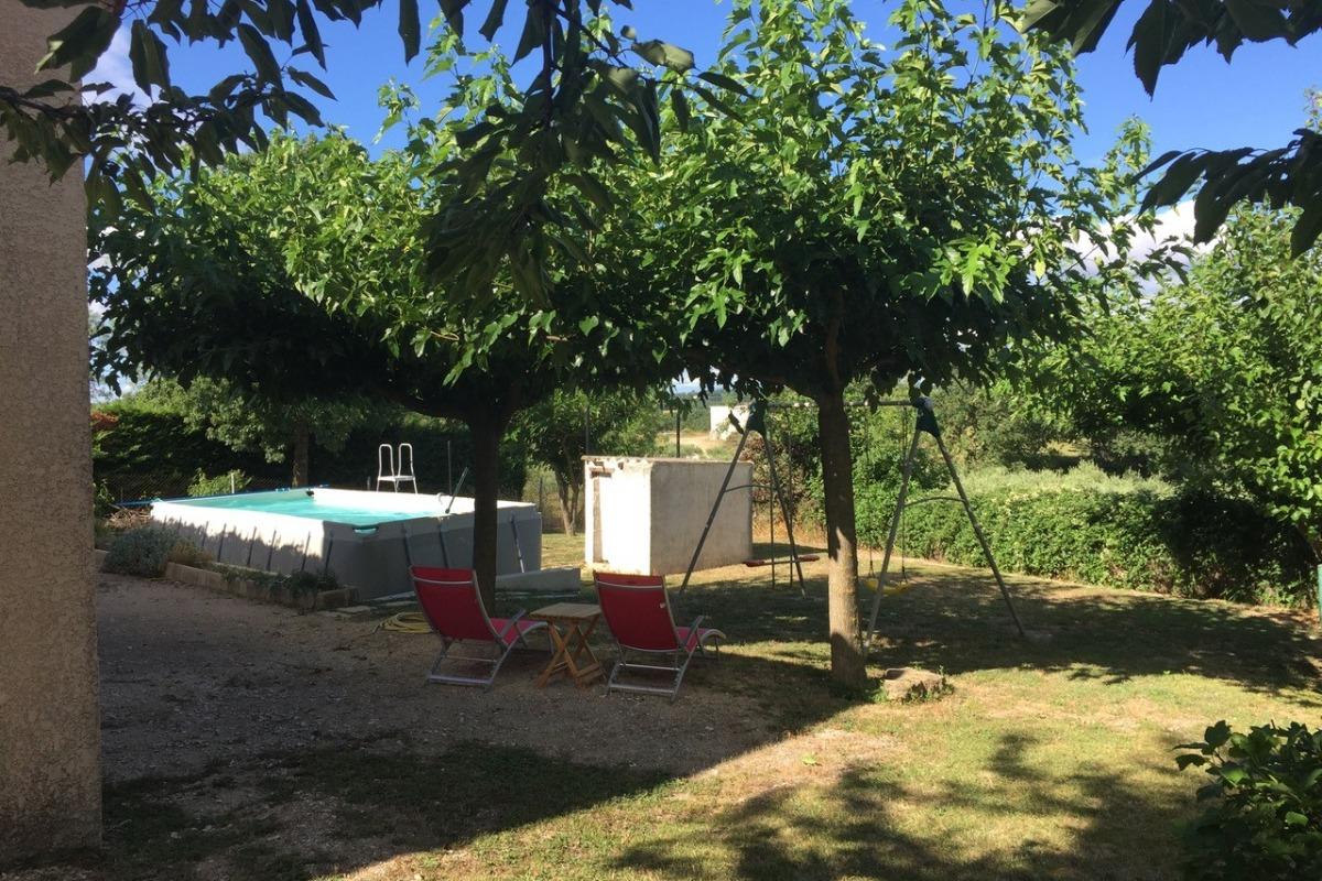 Jardin - Location de vacances - Rousson