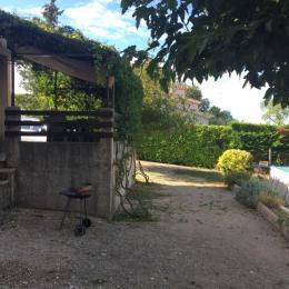 Terrasse - Location de vacances - Rousson