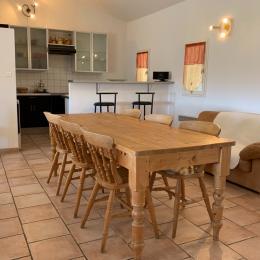 Salle à manger - Location de vacances - Nîmes