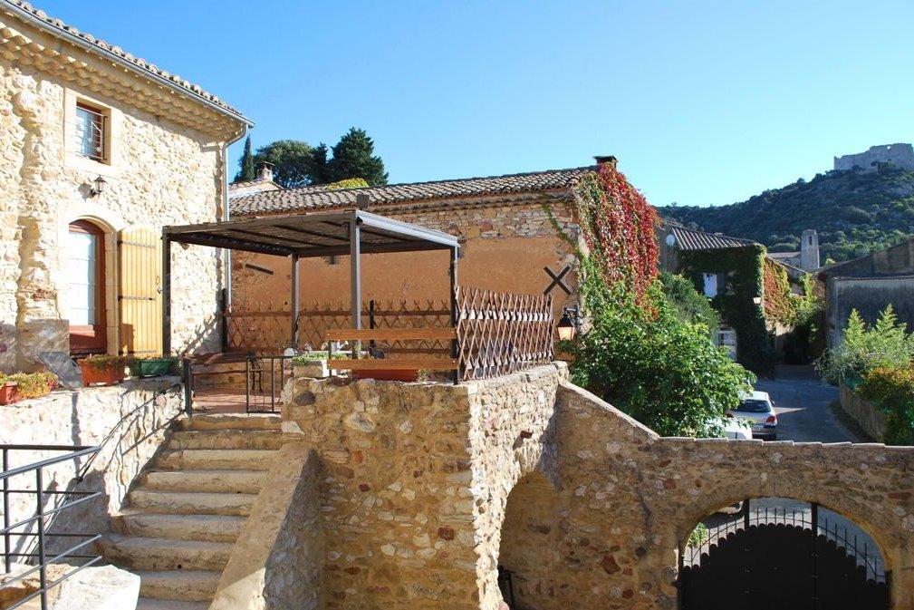 chambre en terrasse - Chambre d'hôtes - Saint-Victor-la-Coste