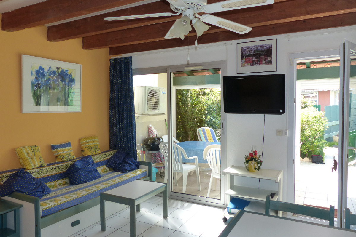 Salle de séjour - Location de vacances - Le Grau-du-Roi