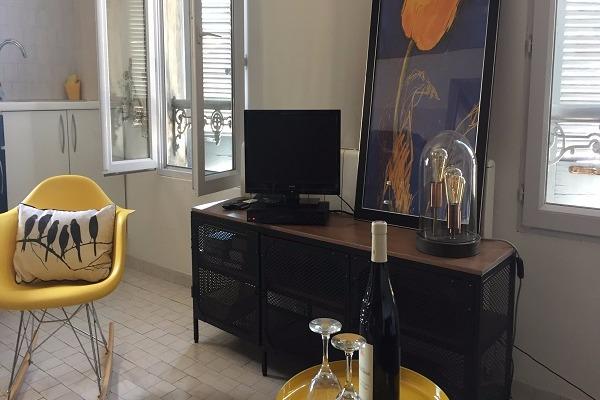 Salon Mezzanine - Location de vacances - Nîmes