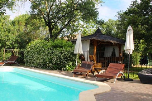 plancha +barbecue - Location de vacances - Vézénobres