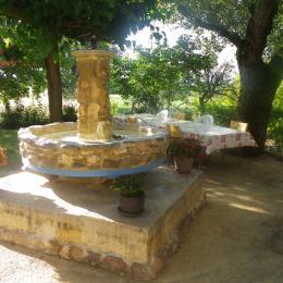 la fontaine - Location de vacances - Rochegude