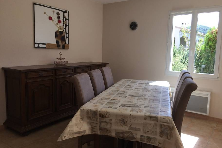 salle à manger - Location de vacances - Saint-Geniès-de-Comolas