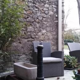 Petit coin détente fraîcheur en été - Location de vacances - Saint-Bénézet