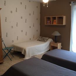 Chambre Apt n°10 - Location de vacances - Le Grau-du-Roi