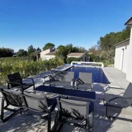 salon de jardin - Location de vacances - Garrigues-Sainte-Eulalie