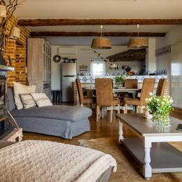 ESPACE REPAS SALON CUISINE CONVIVIAL  - Location de vacances - Roquemaure