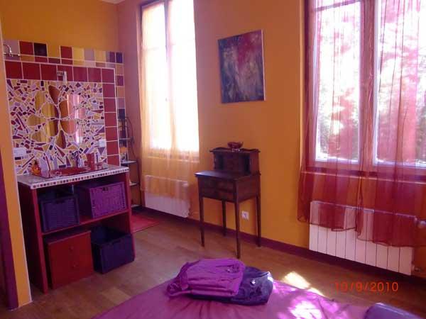 Villa des Violettes-Toulouse-chambre Rapsodie - Chambre d'hôtes - Toulouse