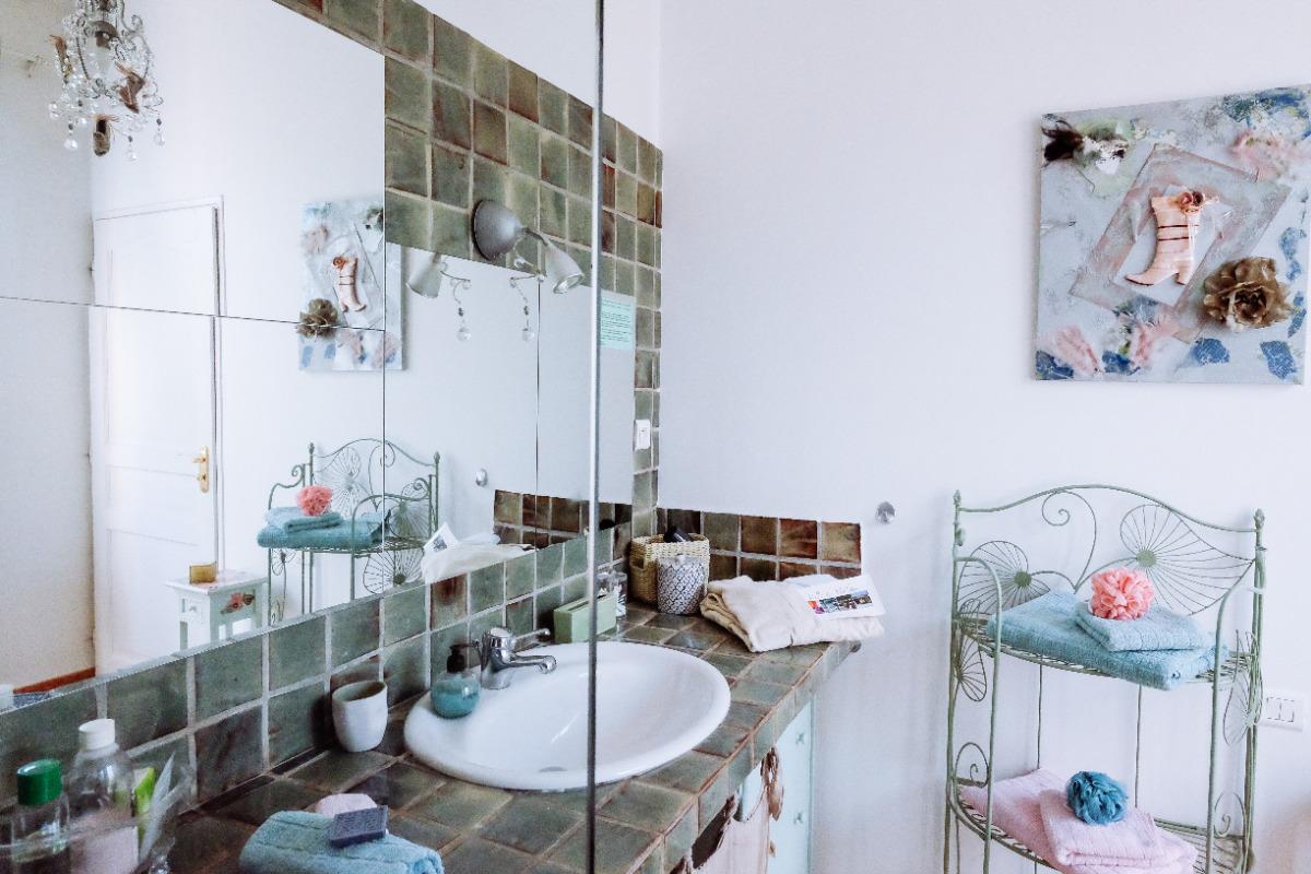 Villa des Violettes - Toulouse - Chambre Nuance - Salle de bain - Chambre d'hôtes - Toulouse