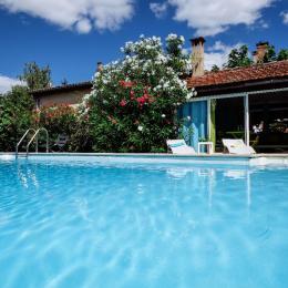 Villa des Violettes - Toulouse - Chambre Nuance - piscine - Chambre d'hôtes - Toulouse