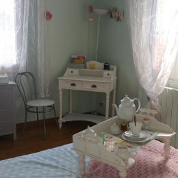 Villa des Violettes - Toulouse - Chambre Nuance - Chambre d'hôtes - Toulouse
