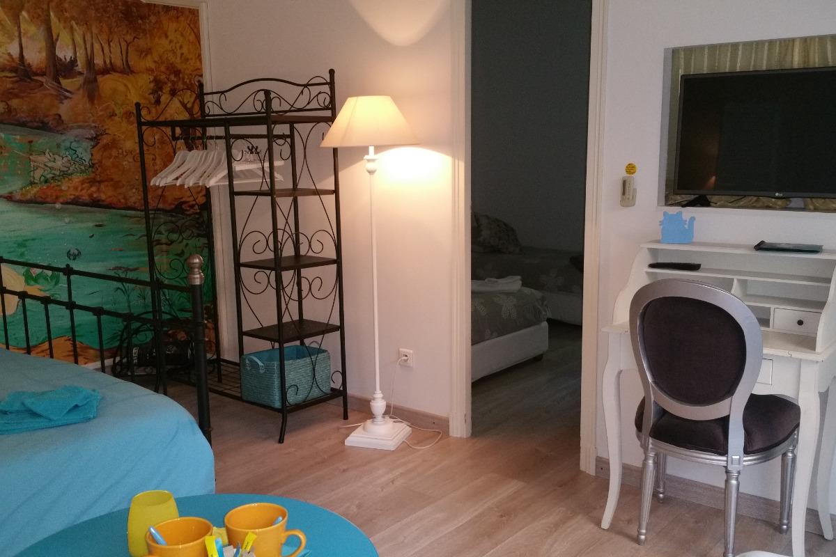 Villa des Violettes-Toulouse-suite les Songes d'Ophir-chambres communicantes - Chambre d'hôtes - Toulouse